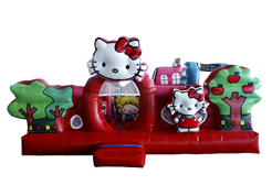 Kitty´s House juego inflable