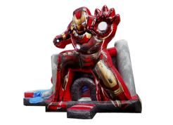 Iron Man juego inflable