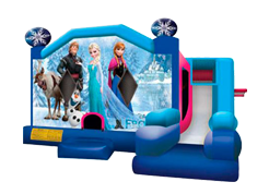 Mini Frozen juego inflable