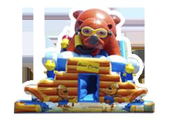 Osito de Campo juego inflable acuático