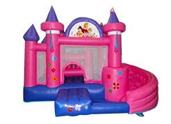 Pink Castle juego inflable