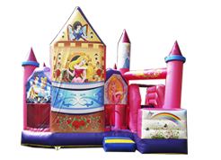Princess Castle juego inflable