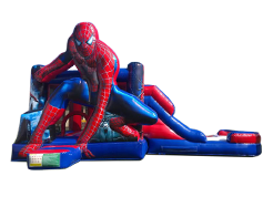 Spiderman juego inflable