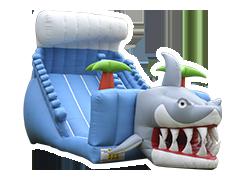 Tiburón juego inflable