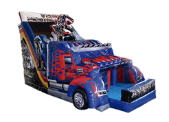 Transformers juego inflable