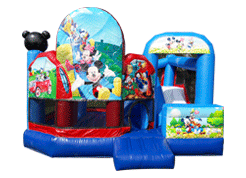 Club House Mickey juego inflable