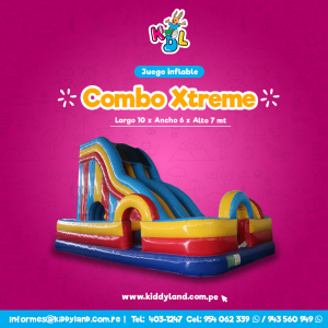 Combo xtreme Juego Inflable Peru