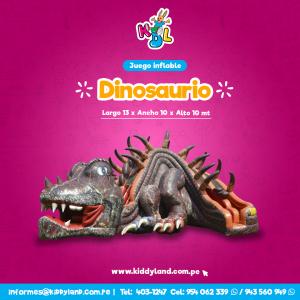Dinosaurio Juego Inflable Peru