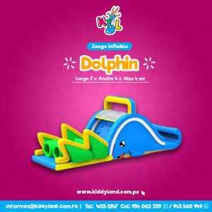 Dolphin Juego Inflable Peru
