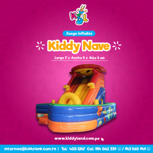 Kiddy nave Juego Inflable Peru