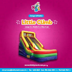 Little climb Juego Inflable Peru