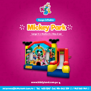 Mickey park Juego Inflable Peru