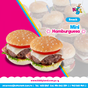 Mini Hamburguesas Snack Perú