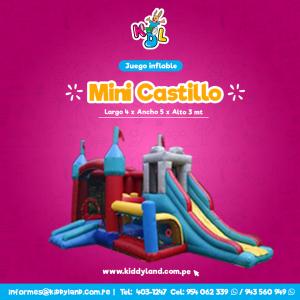 Mini castillo Juego Inflable Peru