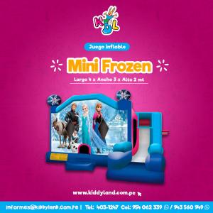 Mini frozen Juego Inflable Peru