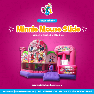 Minnie mouse Juego Inflable Peru