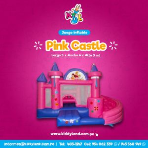 Pink castle Juego Inflable Peru