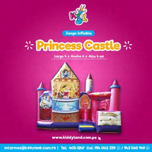 Princess castle Juego Inflable Peru