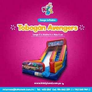 Tobogan avengers Juego Inflable Peru