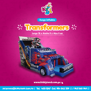 Transformers Juego Inflable Peru