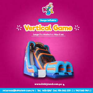 Vertical game Juego Inflable Peru