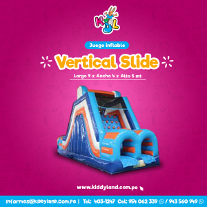 Vertical slide Juego Inflable Peru