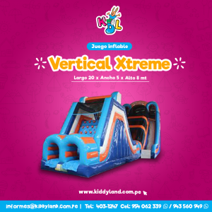 Vertical xtreme Juego Inflable Peru