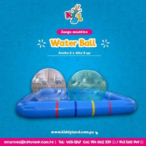 Water Ball Juego Acuático Perú
