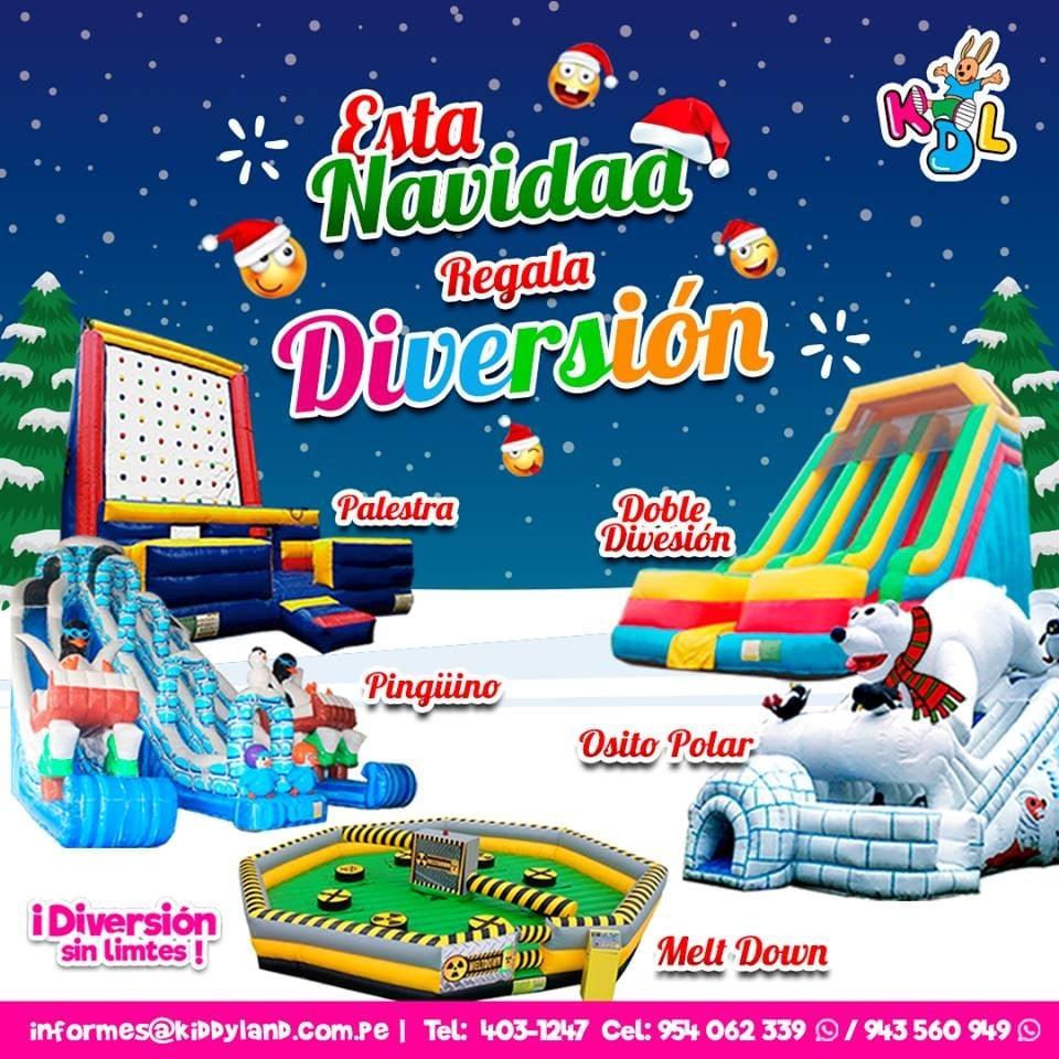 Alquiler Juegos Infantiles Navidad Lima
