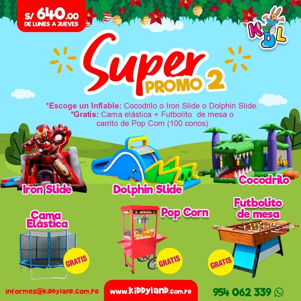 Promociones Juegos Inflables Lima Peru