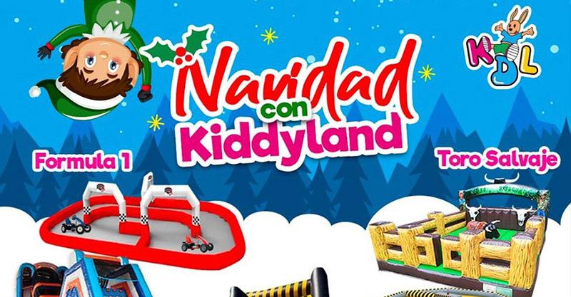 Alquiler juegos Inflables para Navidad